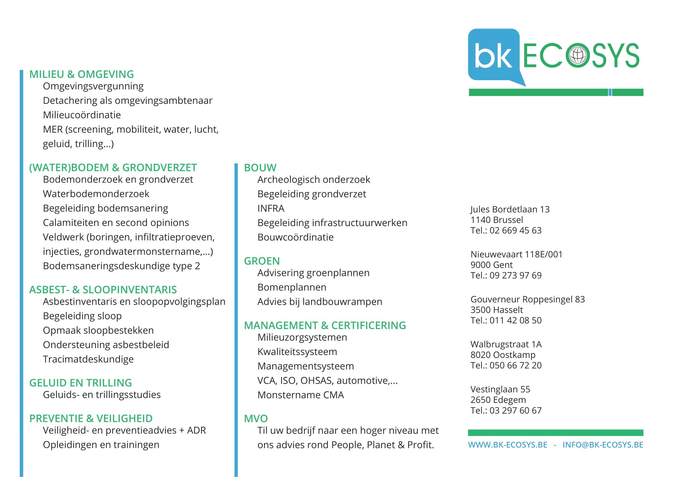 BK Ecosys asbestinventaris en sloopinventaris